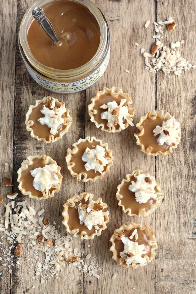 White Chocolate Banana Cream Pie Mini Tarts Recipe on Yummly. @yummly #recipe