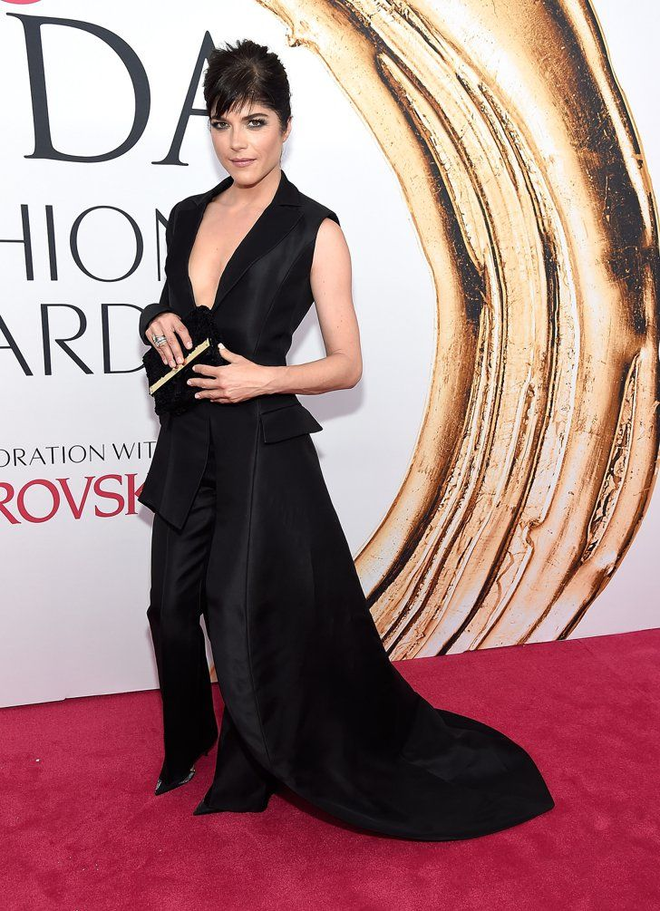 Pin for Later: Cette Année, les CFDA Awards Étaient Plus Glamour Que Jamais Selma Blair Portant une tenue signée Christian Siriano.