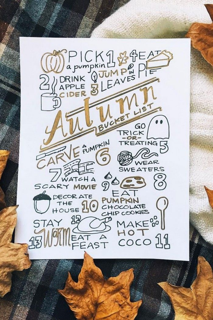 """Free Printable Autumn Bucket List, the Ultimate Fall """"to do"""" list, print at home autumn bucket list with fun fall family activity ideas"""
