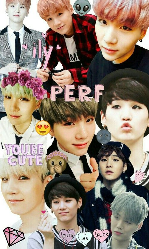 Rap Monster Cute And Funny Wallpaper Collage Bts And Cute Image Bangtan Army Bts Papel De