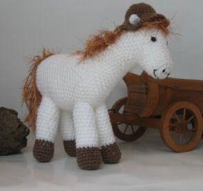 Paard gehaakt