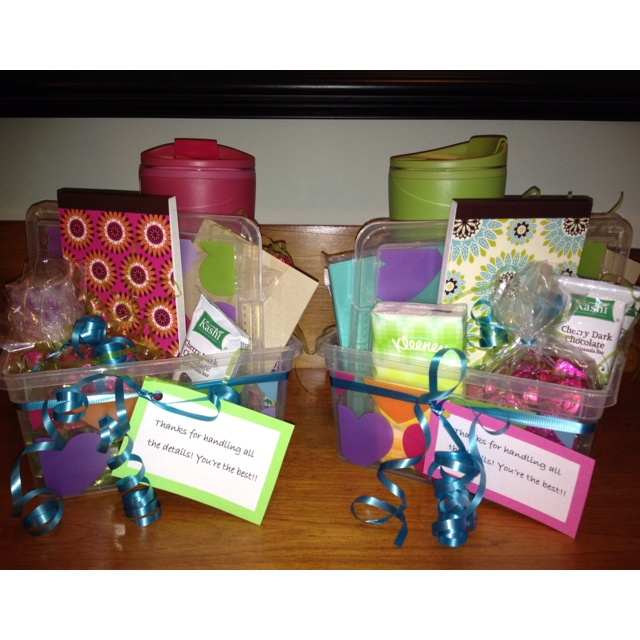 Attractive Admin Assistant Gift: Travel Mug,dove Chocolate, Mentos ,cards, Notepad, Gallery