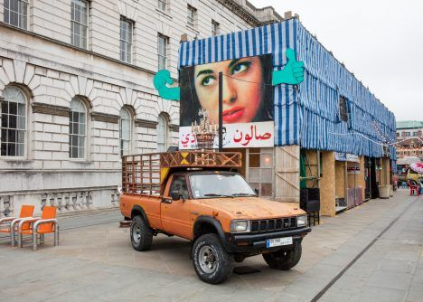 Lebanese street market wins first London Design Biennale medal