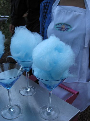 Cotton Candy Martini blue- signature drink :)