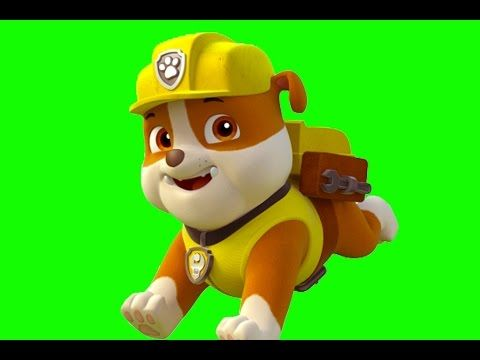 Paw Patrol (Cake Topper): Rubble / Patrulla de cachorros: Cómo hacer a Rubble - YouTube