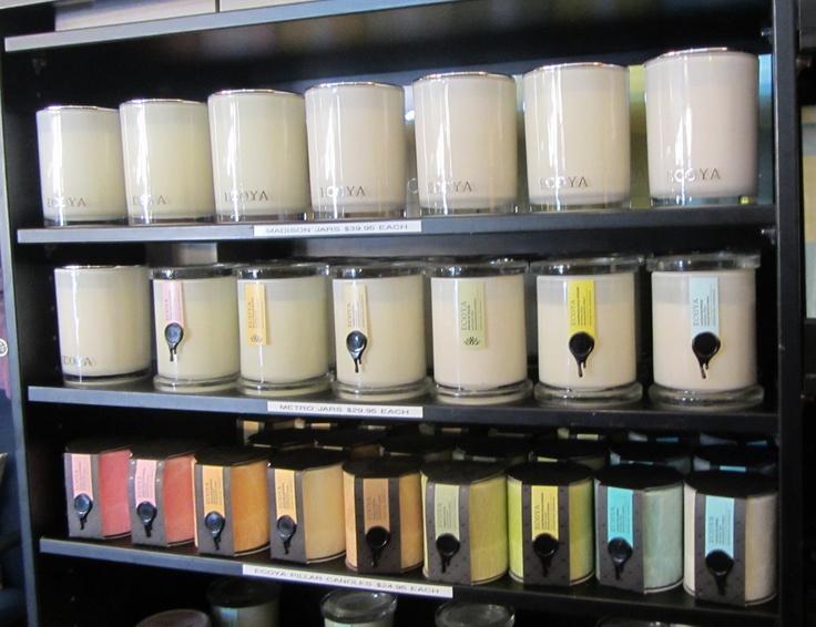 Beautiful Ecoya candles