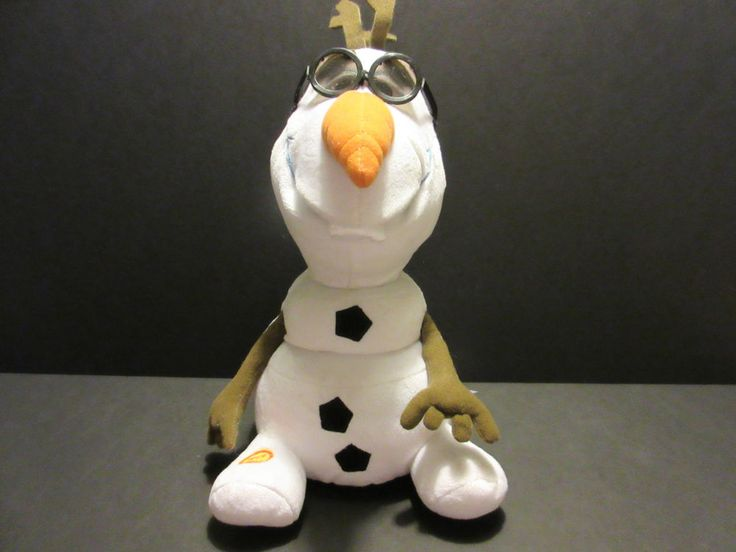 Singing Talking Olaf Frozen Plush Disney Toy Present Gift Snowman | Toys & Hobbies, TV, Movie & Character Toys, Disney | eBay!