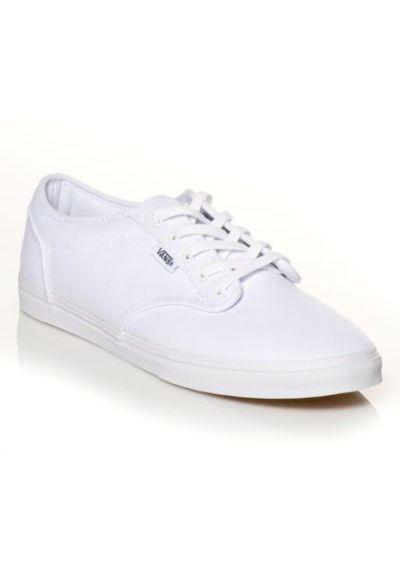 e3e312d73d80 White Mono Vans Atwood Low    ShoeCarnival  shoecarnival
