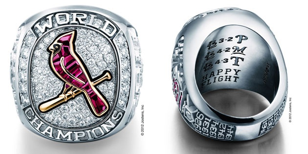 Cards' 2011 World Series ring