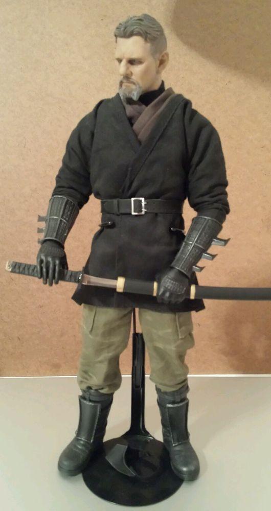 """1/6 Custom Ras Al Ghul 12"""" Figure Liam Neeson Hot Toys Batman Begins Ninja  #Custom"""