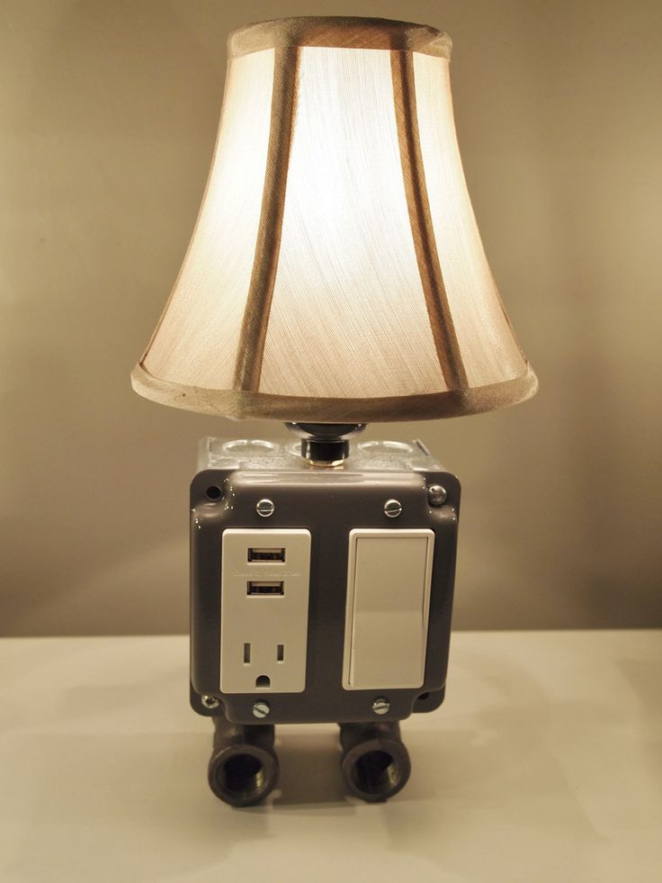 17 Best Images About Diy Table Lamp On Pinterest Plugs