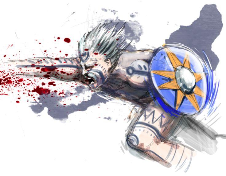 Celtic warrior by TICHO762