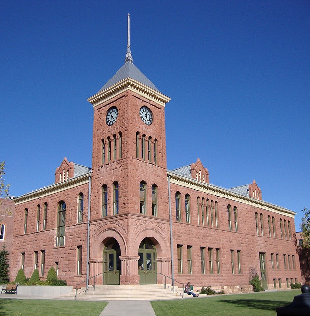 Old Coconino County Courthouse (Flagstaff, Arizona) by courthouselover, via Flickr