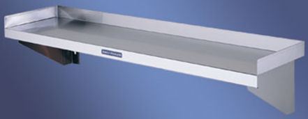 Stainless Steel Flat Wall Shelf - Simply Stainless SS10.2400 Flat Wall Shelf - www.hoskit.com.au | Hoskit Online Store | Sydney, Melbourne, Perth, Brisbane