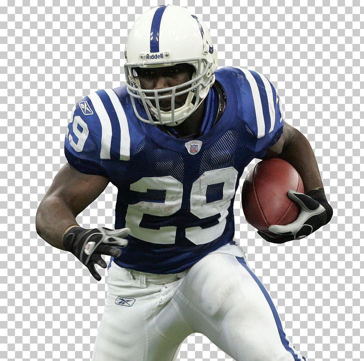 Nfl American Football Player American Football Player Png Blue Competition Event Face Mask Fo American Football Players American Football Football Players