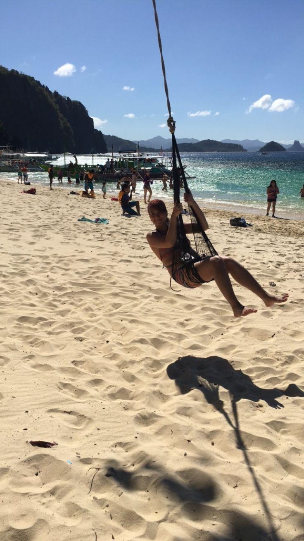 At 7th Commando Beach