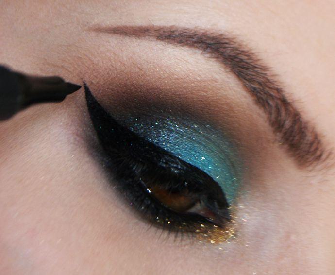 Tutorial – maquiagem com as sombras Aquamarine e Maresia do Pausa para Feminices