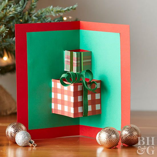 Sending a handmade card is an easy way to show someone you're thinking of them this holiday season.