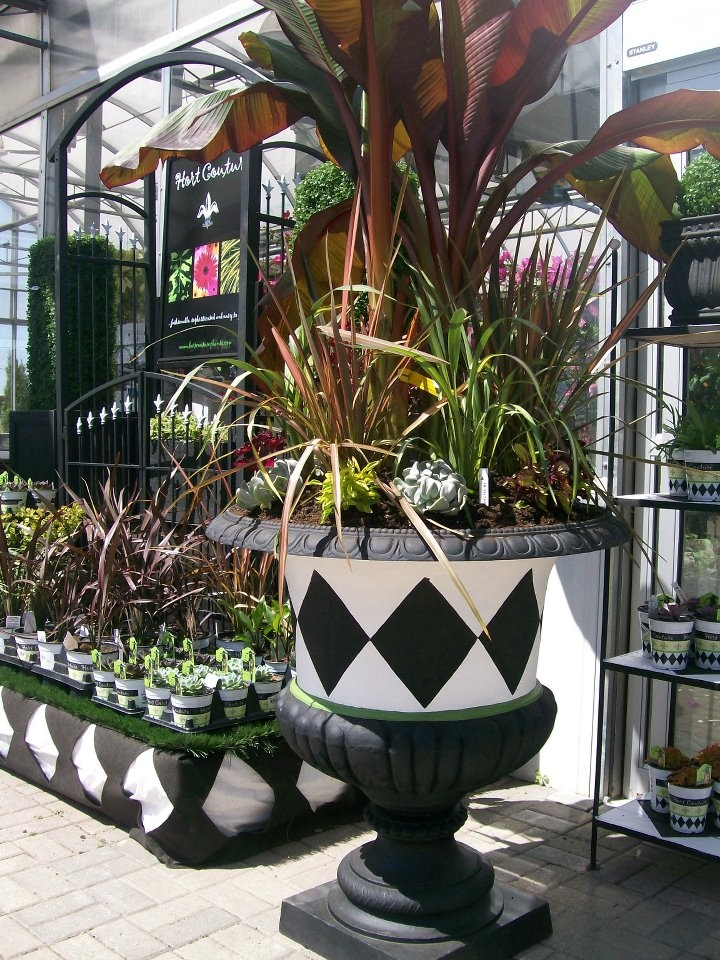 18 best creative planter ideas for storefront images on for Gardeners supply canada