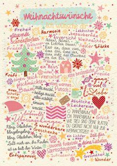 Weihnachtswünsche - Postkarten - Grafik Werkstatt Bielefeld