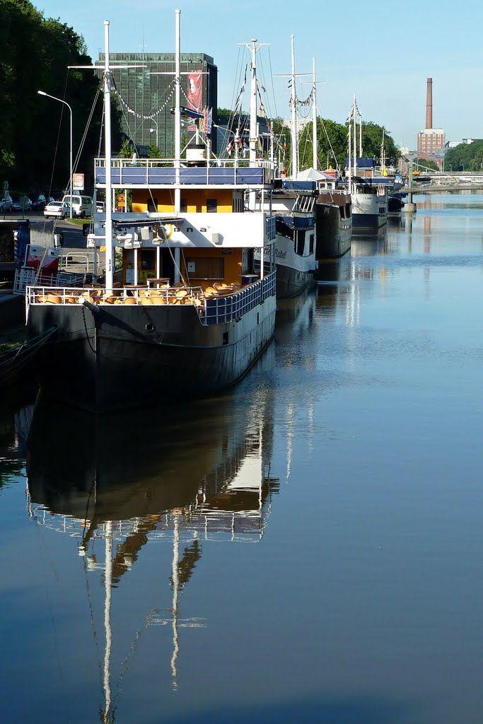Caminando por el Río Aura, Turku, Finland