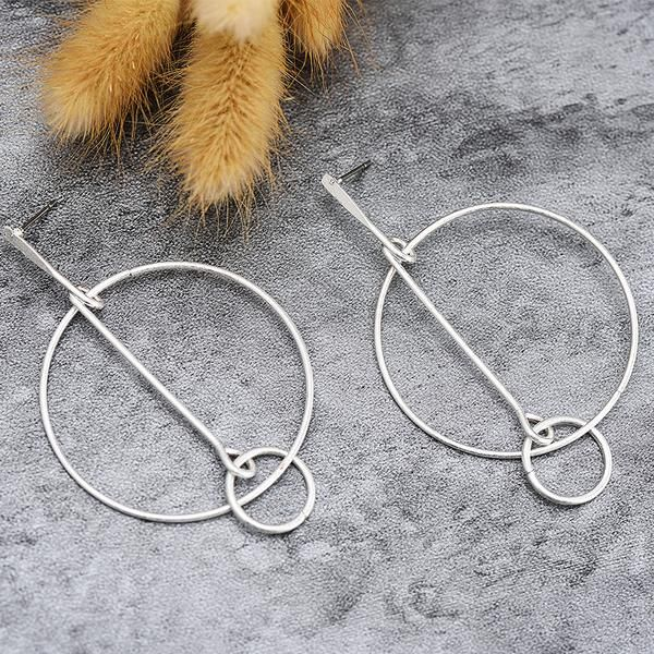 Circus Drop Silver Earrings | Bohemian | Gypsy | Indie | Hippie Style