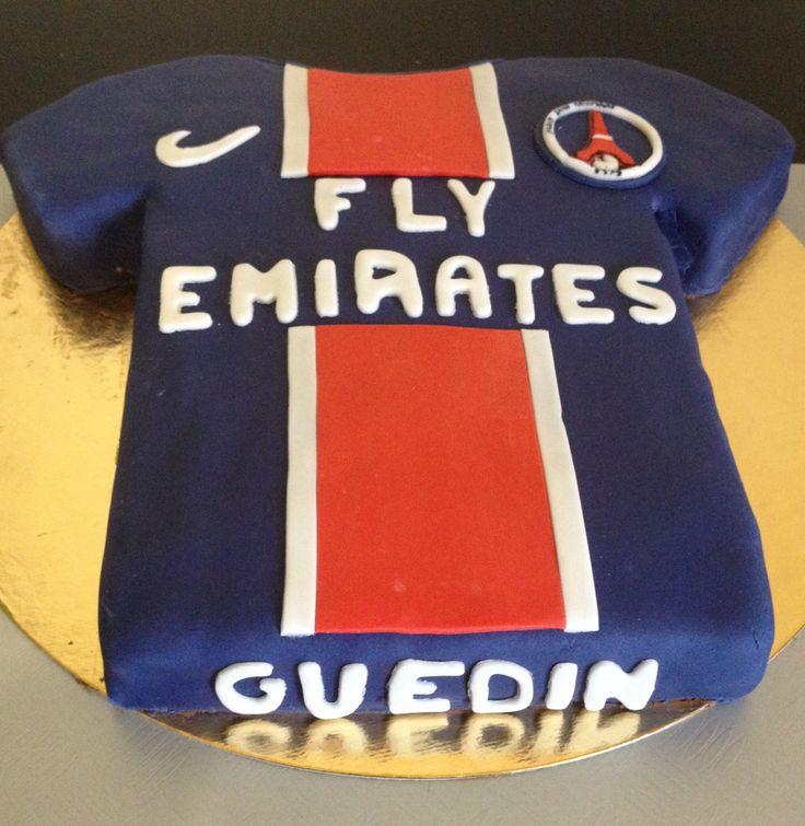 #birthday #Cake #PSG #maillot de #foot