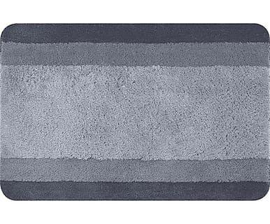 Tappetino da bagno Balance grigio, 60x90 cm
