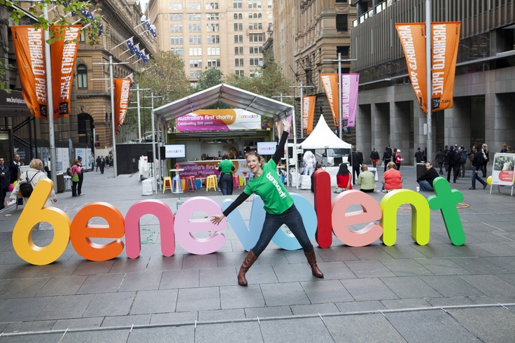 The Benevolent Society's 200 years birthday in Martin Place, May 8th 2013.