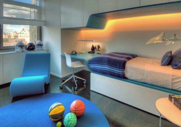 15 Unterhaltsame moderne Kinderzimmer Designs, die Ihre Kinder lieben werden in 2020 ...