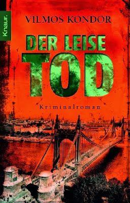 Kondor Vilmos | Budapest Noir | german cover | #cover #book #crime