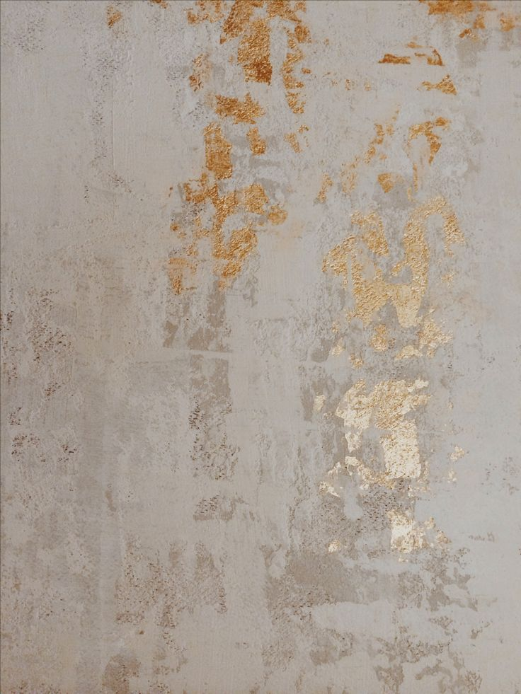 Blue Eyed Yonder gilded plaster wall - (this would be so fun in a hallway or entry)