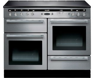 Rangemaster Electric Range Cookers with Electric Induction Hobs in Stainless Steel - standard width of 110 cm - ao.com