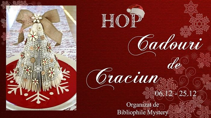 Haideți la HOP! Cadouri de Crăciun pentru oameni frumoși.  Iată care sunt cadourile pe care le am de oferit: http://aliasgreen.aboutblank.ro/2014/12/05/hop-cadouri-de-craciun/  Mult succes și sărbători frumoase, dragilor!