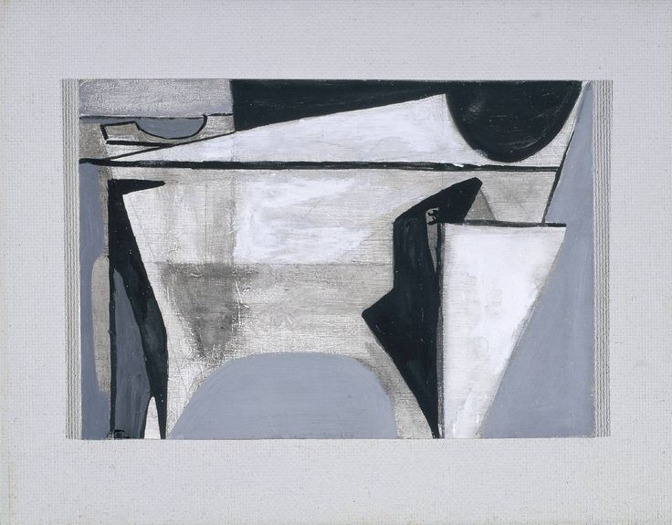 'Composition February I' 1954 by Wilhelmina Barns-Graham (Scottish 1912-2004)