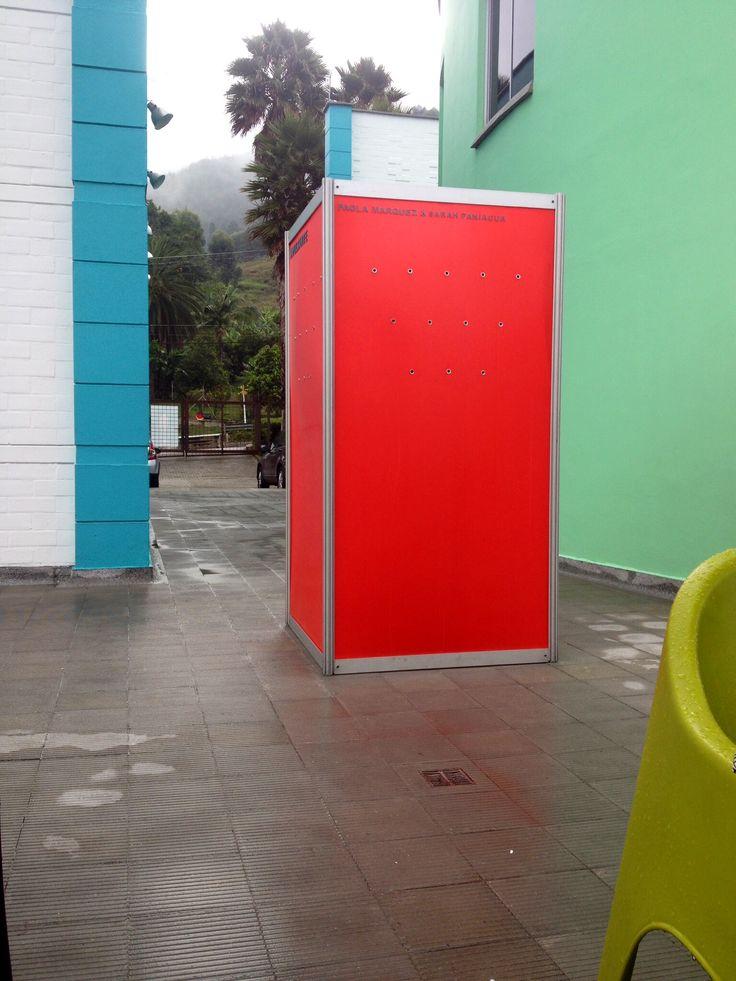 Installation #art #red #designer #space #installation instalación artística