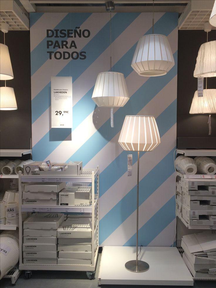 IKEA Alcorcon, Madrid, featured lighting series