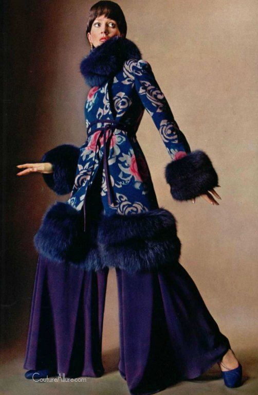Christian Dior, 1970 Not posting this cause I like it. But because What were they thinking in the 70's?: