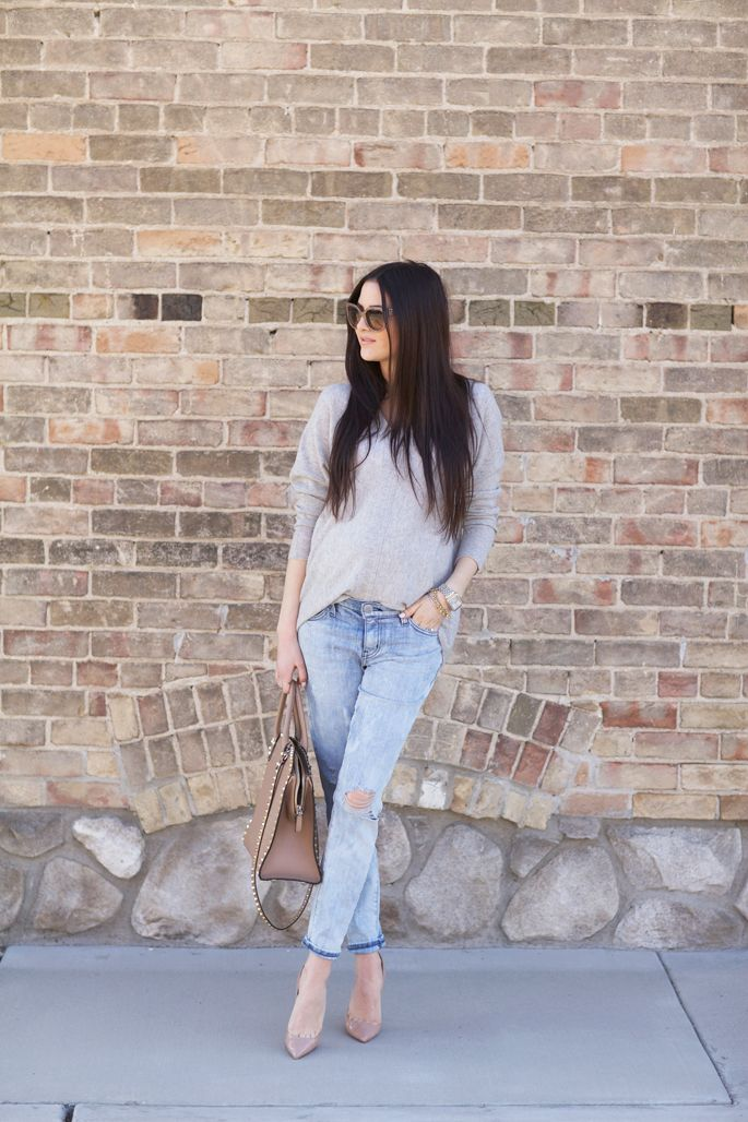 current-elliott-distressed-denim-jeans