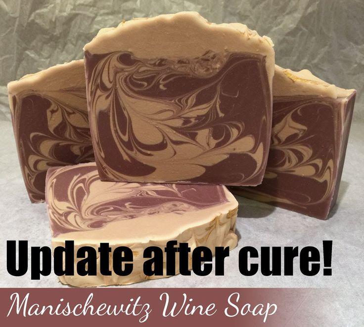 Update - Manischewitz Wine Soap Cured