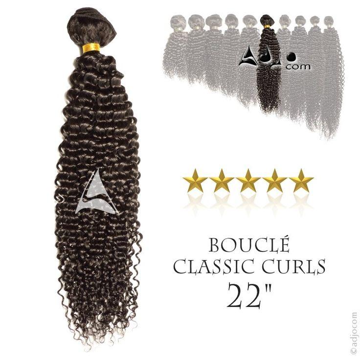 Tissage brésilien bouclé Classic Curls Haut de Gamme 22 pouces
