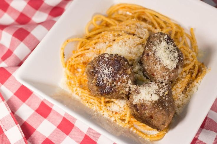 Grandma's Secret Meatball Recipe is one you'll want to make sure you keep tucked away in a safe place. This easy dinner idea complements your Italian-style meal effortlessly. Parmesan crusted meatballs... Need we say more?
