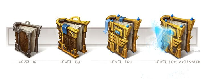Concept: World of Warcraft Class Accessories