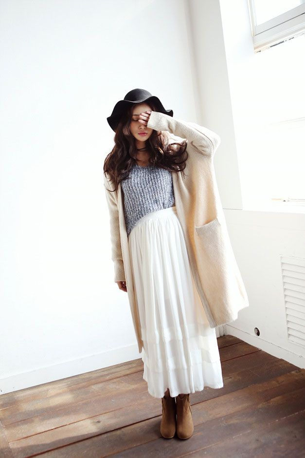 Open Long Pocket Cardigan