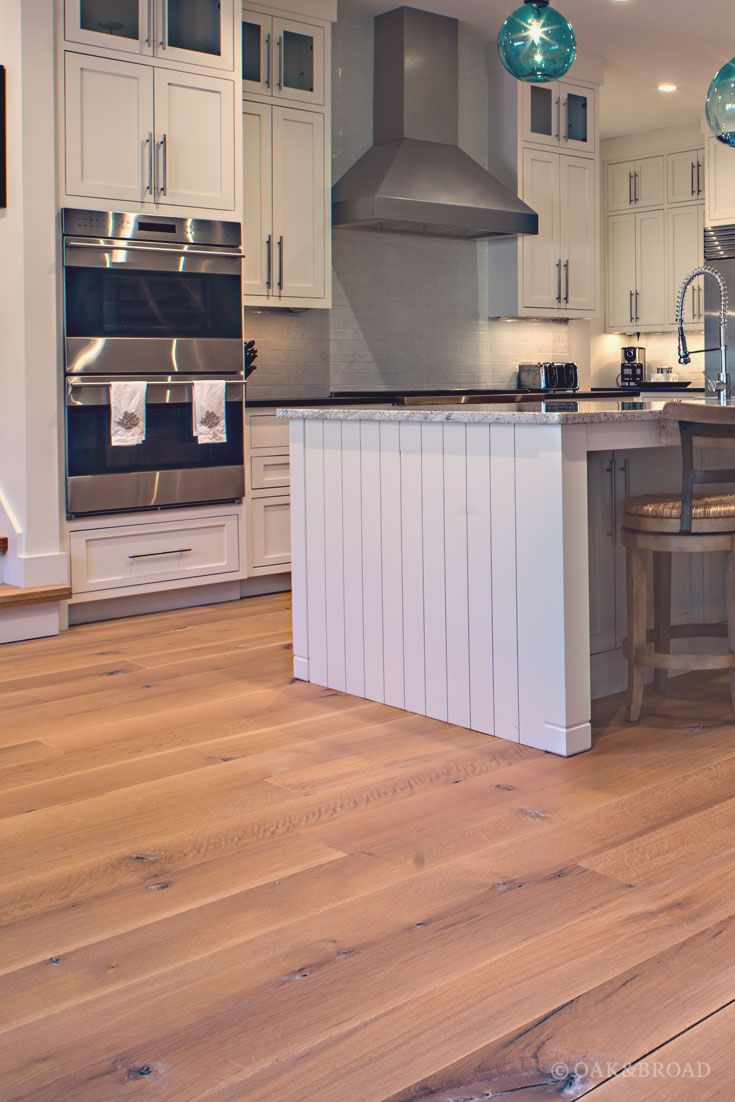 Wide Plank White Oak Flooring In Nashville Tn Modern Farmhouse