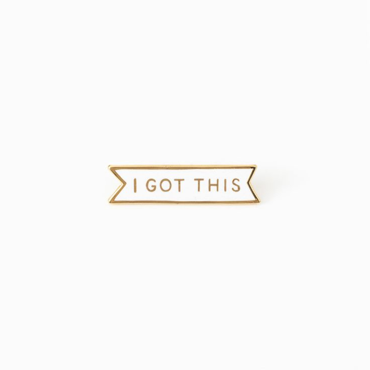 """Yes, you can do this. Cloisonné hard enamel pin with metal butterfly clasp. Die-stamped in gold metal with polished white resin fill. Measures 1.25"""" wide. This item is in stock and ready to ship, and"""