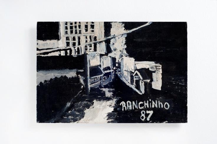 Ranchinho (Sebastião) - 1981  Noturno  Óleo sobre Tela | Eucatex  34 x 50 cm