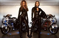 Suzuki Hayabusa for sale from Pepsi Commercial ridden by J Low and Beyonce
