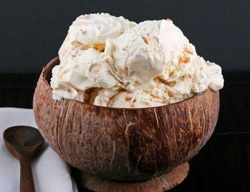 Coconut & Caramel Chunk Ice cream