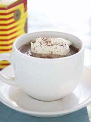 Rezept für flüssige Schokoladentrüffel-Hatte etwas ähnliches in der Chocolate Loung …
